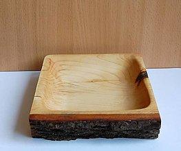 Nádoby - Drevená miska - Lipová 7 - 13474525_