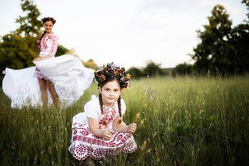 detské šaty Zámutovské kvety