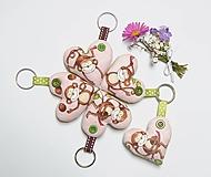 Kľúčenky - Prívesky - šťastné opičky - 13473747_