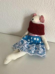 Hračky - Myška co chcela baletkou byt - 13473857_