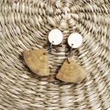 Náušnice - Drevené náušnice s vôňou prírody - 13478728_