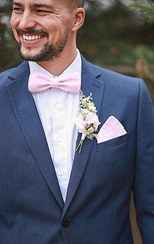 Pierka - Svadobné pierko - ružovo-biele - 13476627_