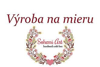 Náramky - Folk kvetinový náramok pre družičky - výroba na mieru - 13477502_