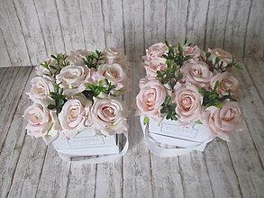 Dekorácie - Mini Flower box - 13476540_