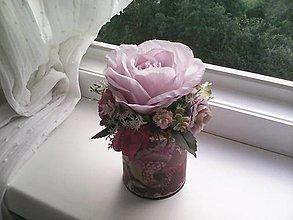 Dekorácie - Kvetinová krabička ... pre pani učiteľku ♥... - 13476143_