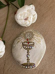 Dekorácie - Kalich na kameni - 13476141_