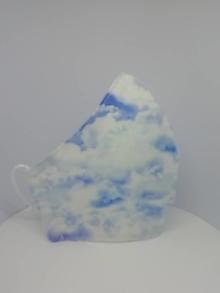 """Rúška - Bavlnené rúška """"v oblakoch""""  - 13476082_"""