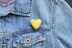 Odznaky/Brošne - Brošňa #yellow - 13476692_