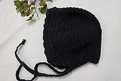 Detské čiapky - háčkovaný čepček - 13478708_