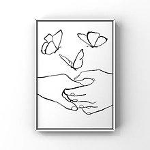 Grafika - Láskavý dotyk - 13477517_
