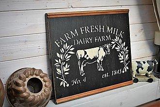 Tabuľky - Farmárska tabuľa - 13476066_