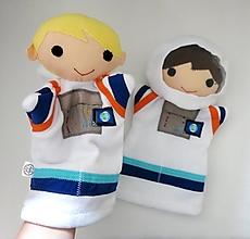 Hračky - Maňuška kozmonaut - na objednávku - 13479979_