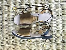 Obuv - Goldie sandalky - 13478923_