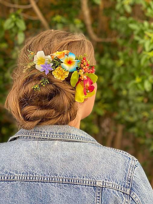 """Kvetinový hrebienok """"bláznivá letná láska"""""""