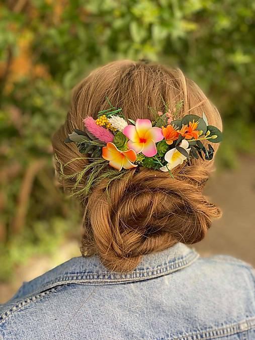 """Kvetinový hrebienok """"aloha"""""""