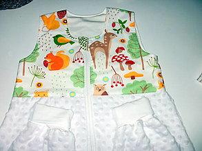 Textil - spací vak / minki  s nôžkami - 13480836_