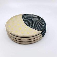 Nádoby - Sada malých tanierikov (4ks) - 13478959_