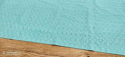 Textil - Madeira - Svetlá modrá- cena za 10 centimetrov - 13482212_