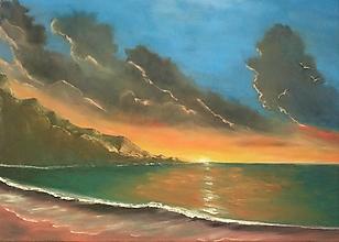 Obrazy - Západ slnka - 13482431_