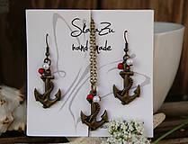 Sady šperkov - Setík s kotvičkami - 13483779_