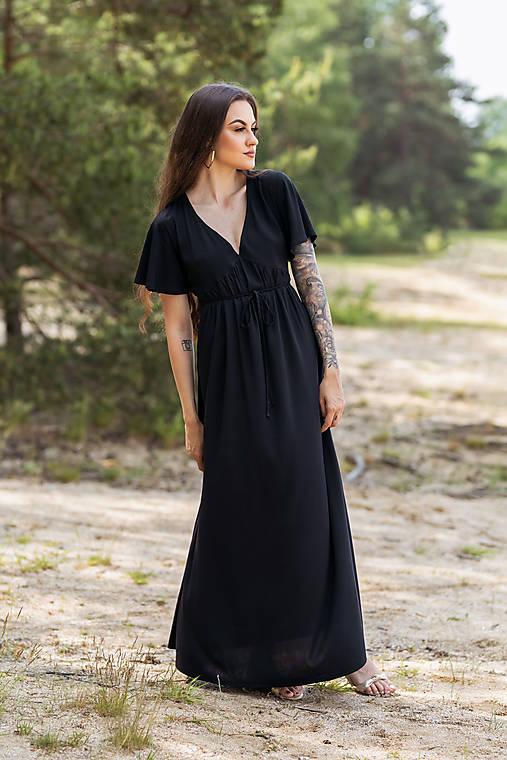 Šaty - Šaty Farfalla - čierne - 13483198_