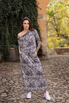 Šaty - Čipkované BOHO maxi - 13482923_