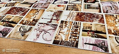 Textil - Bavlna režná - Digitálna tlač - Paris - 13484599_