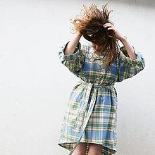 Šaty - recy šaty z obrusu - 13484603_