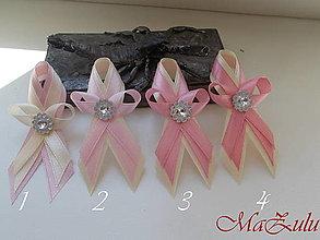 Pierka - svadobné pierko v ružovoMaslovej kombinácii - 13486150_
