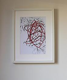Obrazy - there's no way out . kresba ceruzou/pastelkami/fixou . A4 - 13487237_
