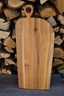 Pomôcky - Dlhé drevené denko, podložka - intarzia dub, čerešňa, jaseň - 13485594_