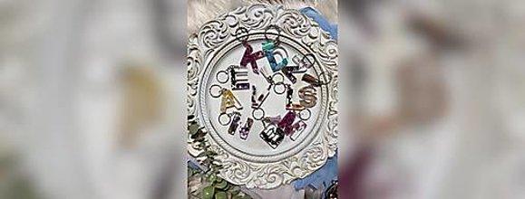 Kľúčenky - Kľúčenka s príveskom zo živice - 13486692_