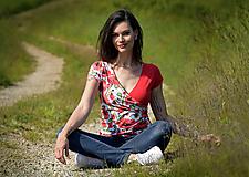 Topy, tričká, tielka - Tričko Mako-Vé - 13485233_