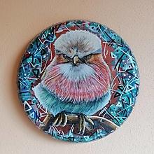 Obrazy - Maľba na železnom podklade - Angry Bob - 13486719_