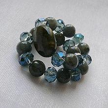 Šperky - Náramok labradorit - 13486557_