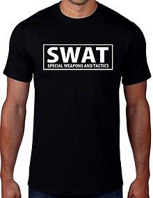 Tričká - SWAT - Special Weapons And Tactics - 13486715_
