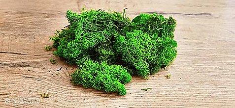 Polotovary - Preparovaný mach - 100 gramov (Zelená Svetlá) - 13487952_