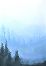 Obrazy - Hory v modrej - 13490656_