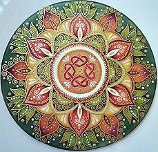 Dekorácie - Mandala...Rodinné šťastie a zdravie - 13489820_