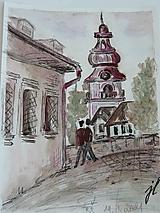 Obrazy - Banská Štiavnica , dvojica A5 - 13489291_