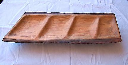 Nádoby - Drevená misa - Lipové kvarteto - 13488024_
