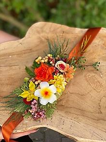 """Opasky - Kvetinový opasok """"zrniečka piesku"""" - 13489777_"""