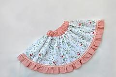 Detské oblečenie - Sukňa lúčne kvety - 13488138_