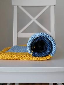 Úžitkový textil - detská deka Slnečný deň - 13488899_