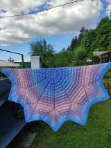 Úžitkový textil - Háčkovaná deka - 13488312_