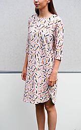 - upletové šaty - organická bavlna - 13492036_