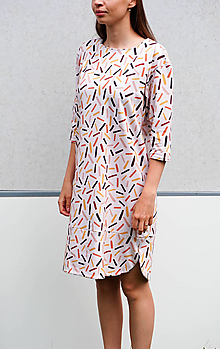 Šaty - upletové šaty - organická bavlna - 13492036_