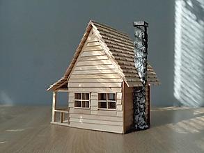 Socha - Dom z prérie - 13491026_