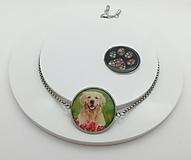 Náramky - náramok s motívom zvierat (náramok pes) - 13493738_