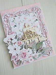 Papiernictvo - Svadobná pohľadnica - 13493391_